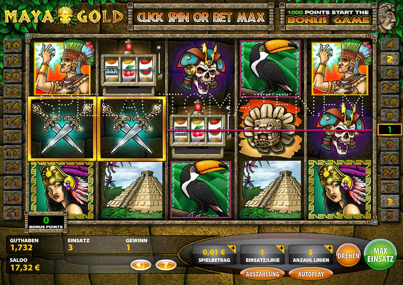 Spiele Maya Gold - Video Slots Online