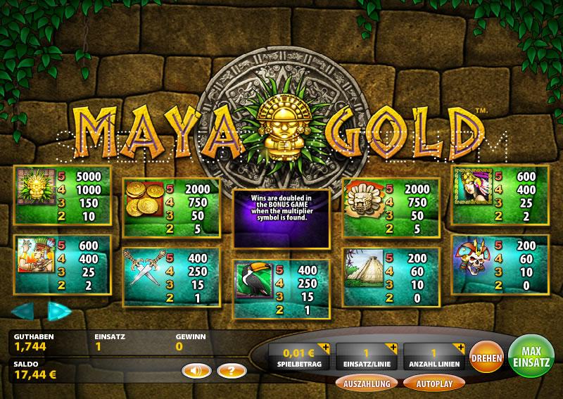 online casino bonus maya symbole