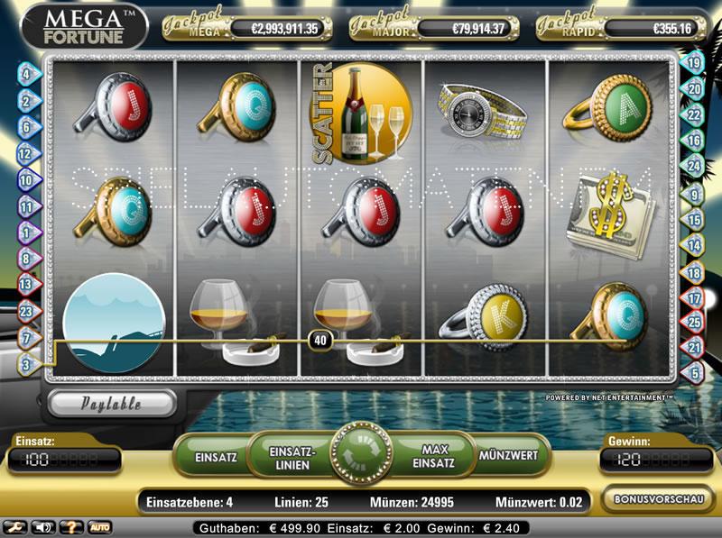 casino online spielen mega fortune