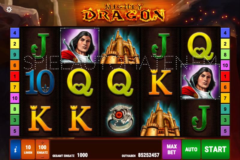 Mighty Dragon Slots-Beurteilung & sofort gratis spielen