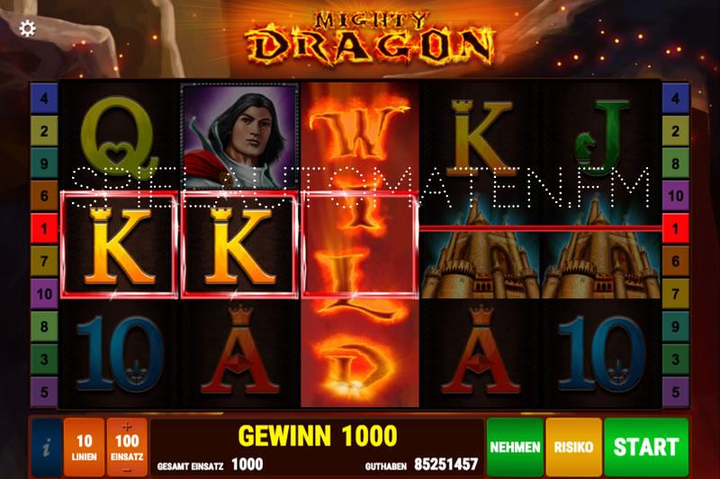 mighty dragon spielen