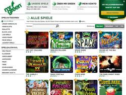 Mister Green Screenshot 2