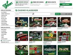 Mister Green Screenshot 3