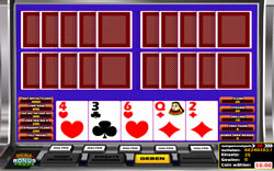 Multihand Video Poker Screenshot 1