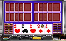 Multihand Video Poker Screenshot 1