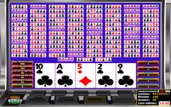 Multihand Video Poker Screenshot 3