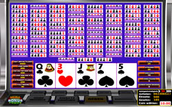 Multihand Video Poker Screenshot 6