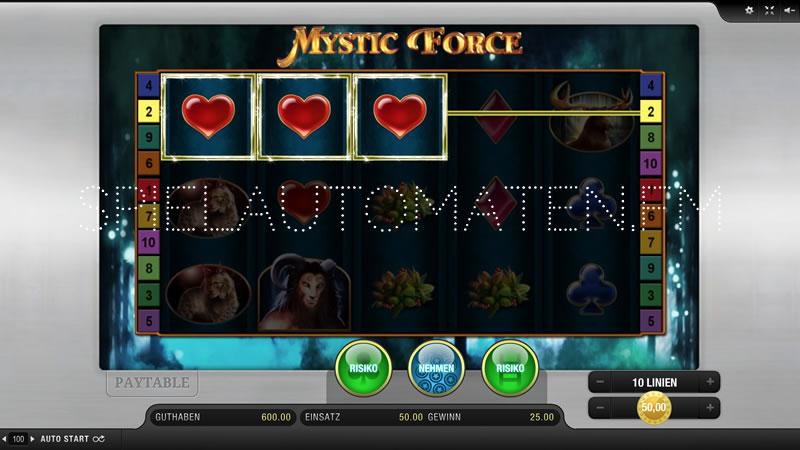 mystic force spielen