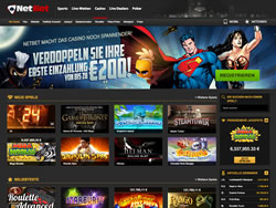 NetBet Casino Screenshot 1