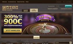 Osiris Casino Screenshot 1