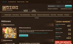 Osiris Casino Screenshot 2