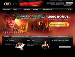 OVO Casino Screenshot 1