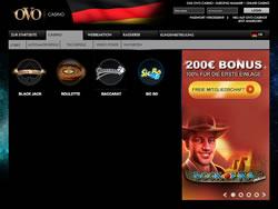 OVO Casino Screenshot 10