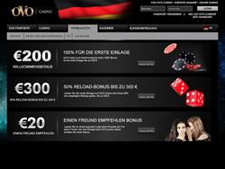 OVO Casino Screenshot 2