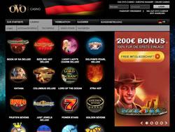 OVO Casino Screenshot 4