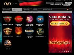 OVO Casino Screenshot 5