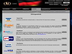 OVO Casino Screenshot 6