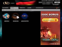 OVO Casino Screenshot 7