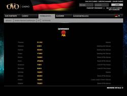 OVO Casino Screenshot 8