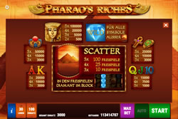 Pharao's Riches Screenshot 2
