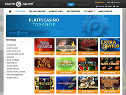 Platincasino Screenshot 2