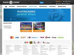 Platincasino Screenshot 3