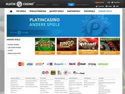Platincasino Screenshot 4