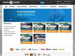 Platincasino Screenshot 5