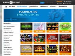 Platincasino Screenshot 8