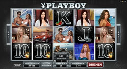 Playboy Online Slot Screenshot 1