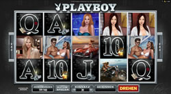 Playboy Online Slot Screenshot 2