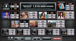 Playboy Online Slot Screenshot 3