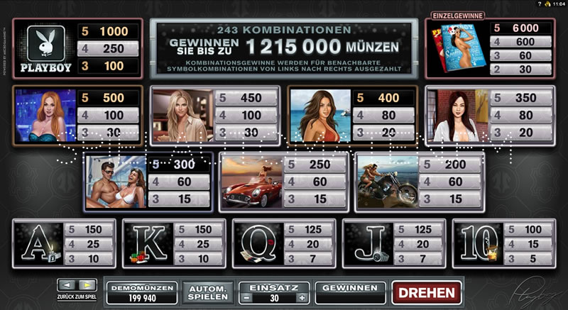 Playboy online slot | Euro Palace Casino Blog