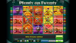 Plenty on Twenty Screenshot 2