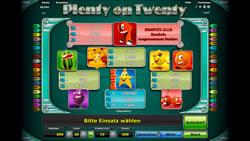 Plenty on Twenty Screenshot 3