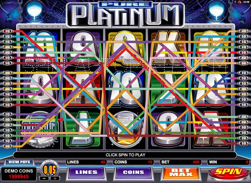 pure platinum spielen