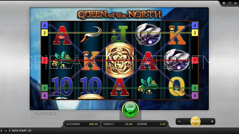 queen of the north spielen