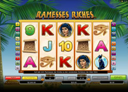 Ramesses Riches Screenshot 1