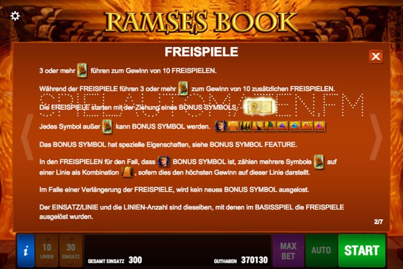ramses book ramses book spielen