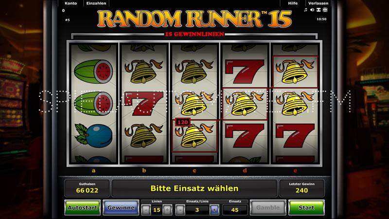 random runner 15 spielen