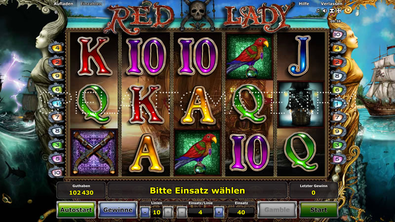 red lady spielen