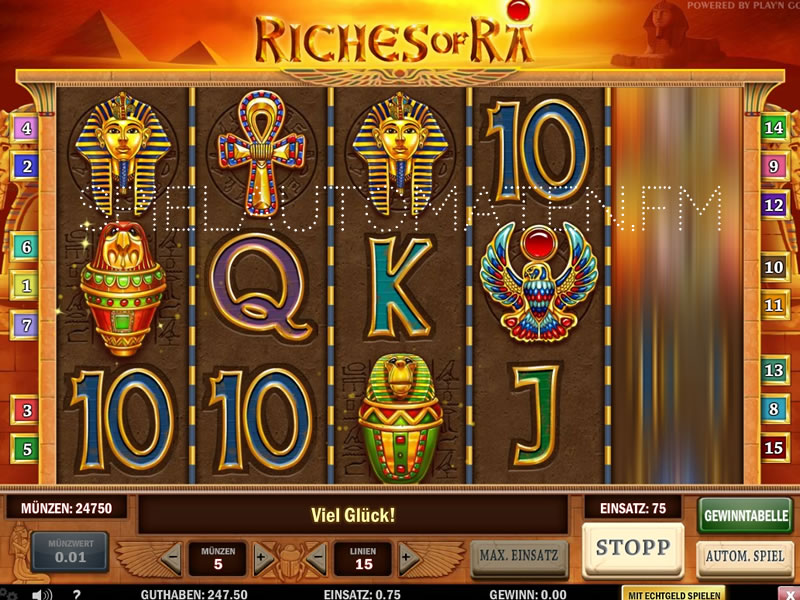 riches of ra spielen