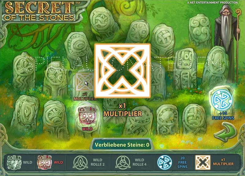 Der Slot Secret of the Stones –Spiele Sie Secret of the Stones
