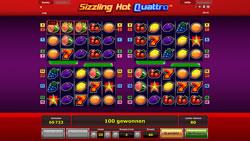 Sizzling Hot Quattro Screenshot 12