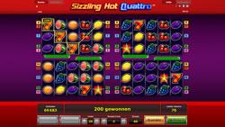 Sizzling Hot Quattro Screenshot 13