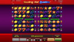 Sizzling Hot Quattro Screenshot 14