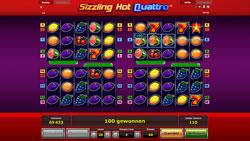 Sizzling Hot Quattro Screenshot 4