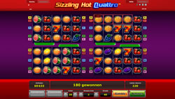 Sizzling Hot Quattro Screenshot 6