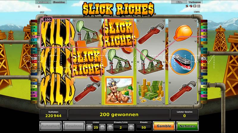 slick riches spielen
