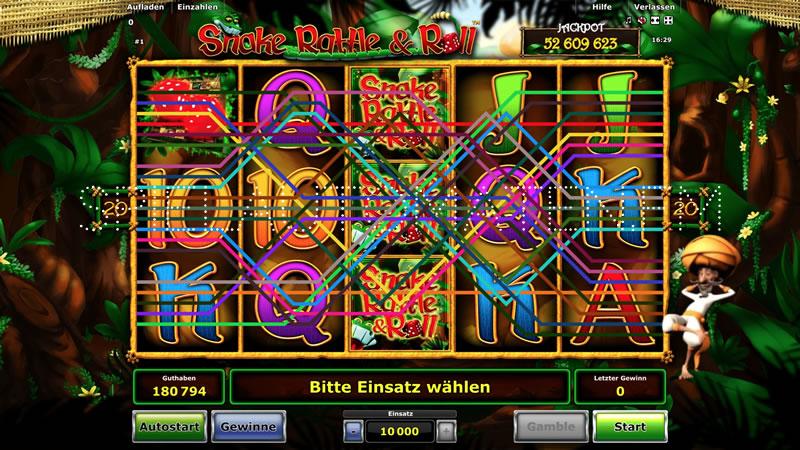 snake rattle & roll spielen